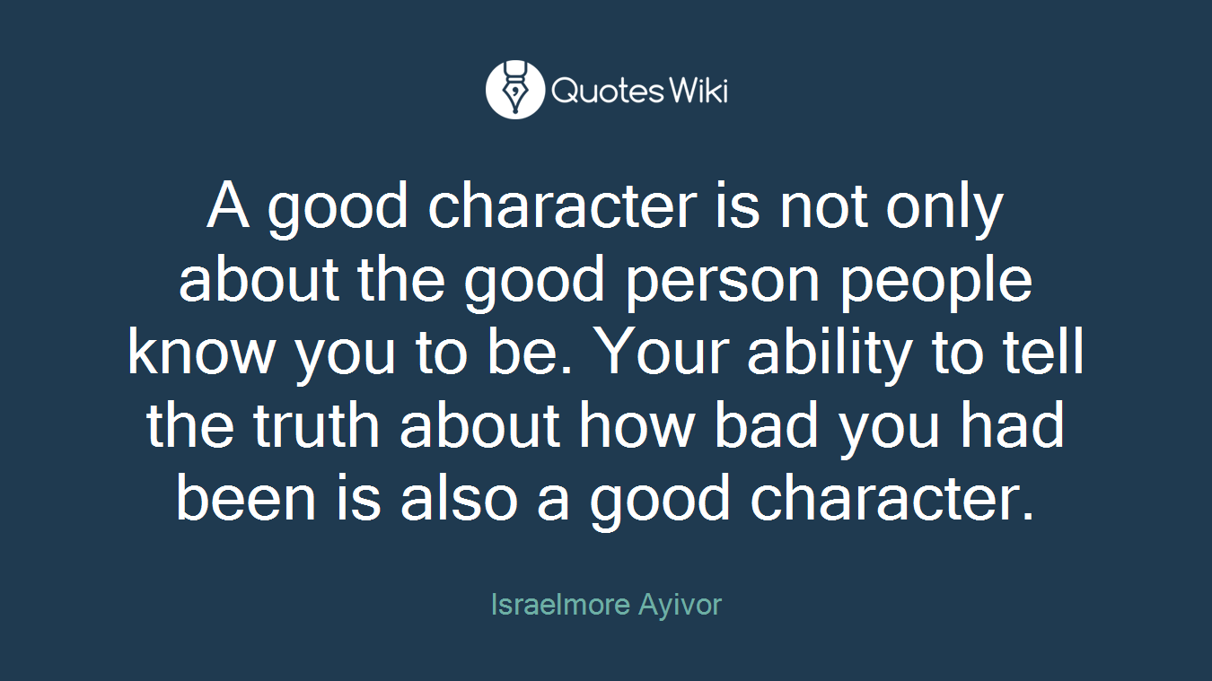 Good Person Quotes Goodperson Quotes  Quotes Wiki