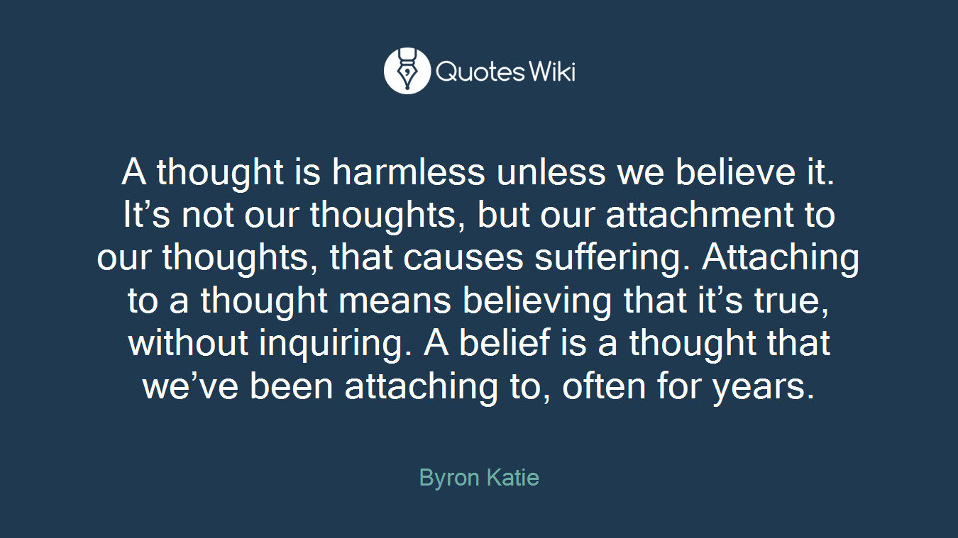Byron Katie Quotes Suffering Quotes  Quotes Wiki