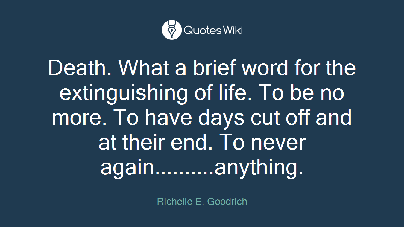Quotes About Life And Death Death Quotes  Quotes Wiki