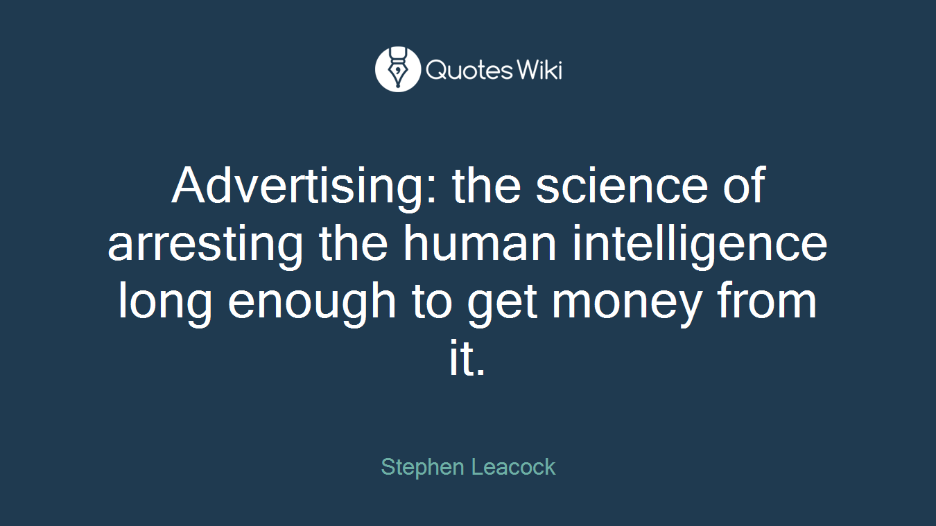 Get Money Quotes Stephen Leacock's Quotes At Quotes Wiki